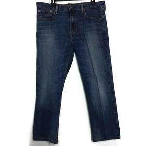 Levis 502 Wash Jeans 38 Hemmed Med Wash